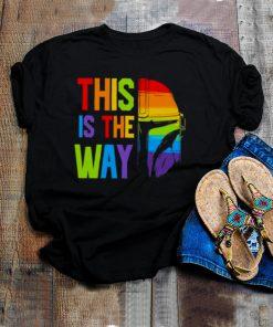 lGBT this is the way Mandalorian shirt