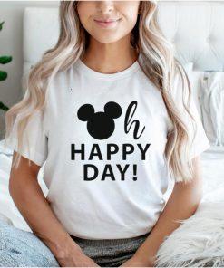 oh happy day disney mickey shirt