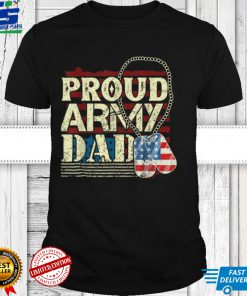 proud army father proud daddy army daddy T Shirt