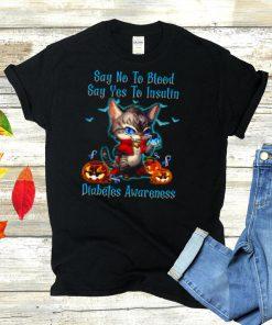 say yes to insulin diabetes awareness shirt